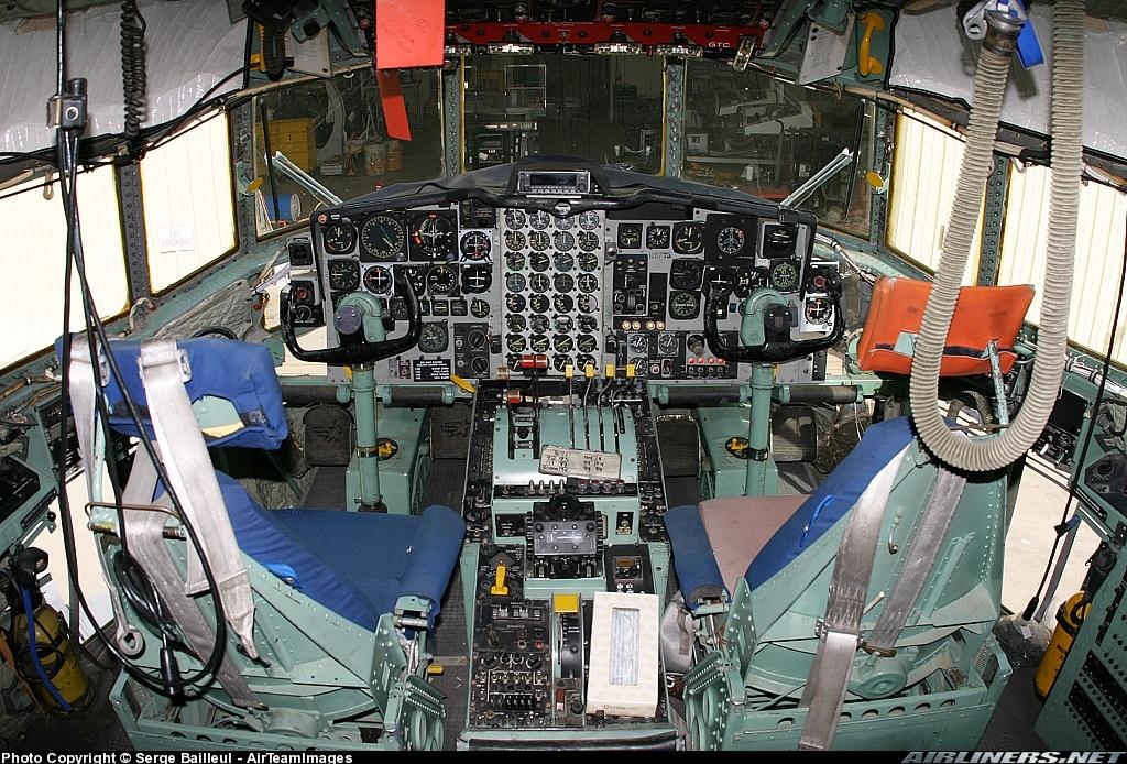 RC-130A Cockpit  C 130 Cockpit